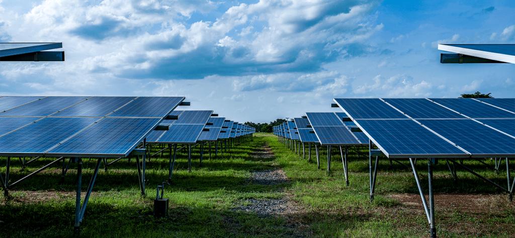 energia solar no meio ambiente fazenda solar