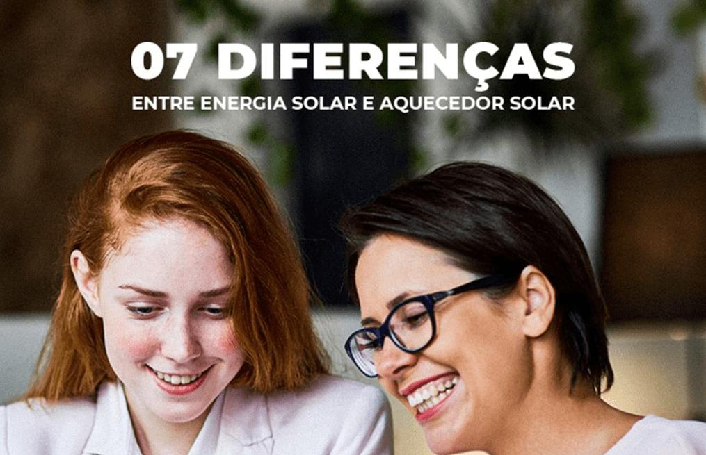 7 diferencas entre energia solar e aquecedor solar